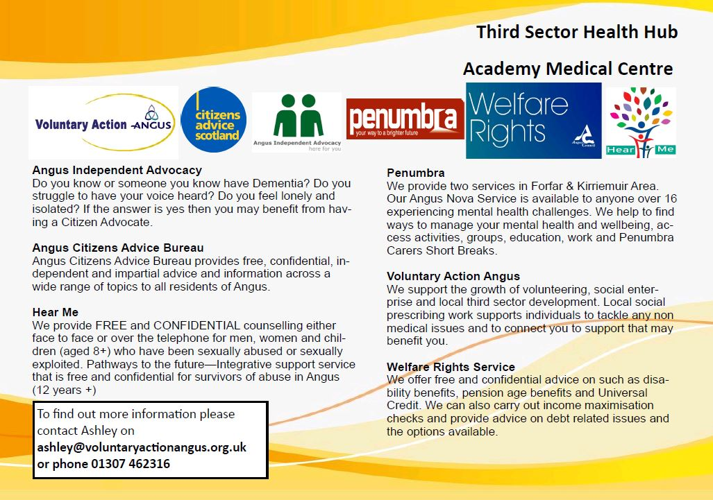 2018 Third Sector Hub at Academy Medical Centre