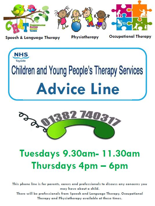 Children and Young Peoples Therapy Services - Advice Line