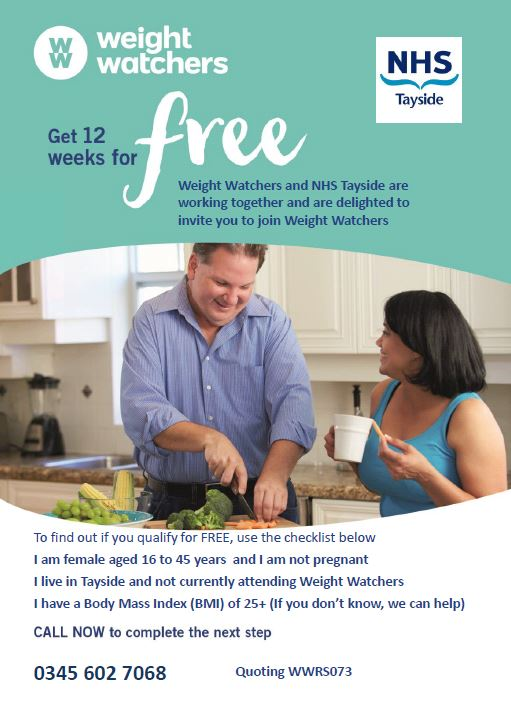 Weight Watchers - Get 12 Weeks for free